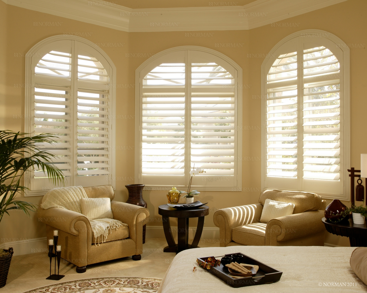 Bedroom Plantatioin Shutters