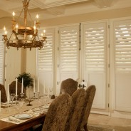 Plantation Shutters for the Dining Room