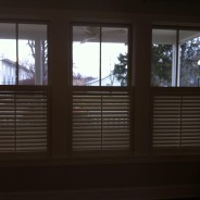 1/2 Shutters or Cafe Style are becoming really popular lately