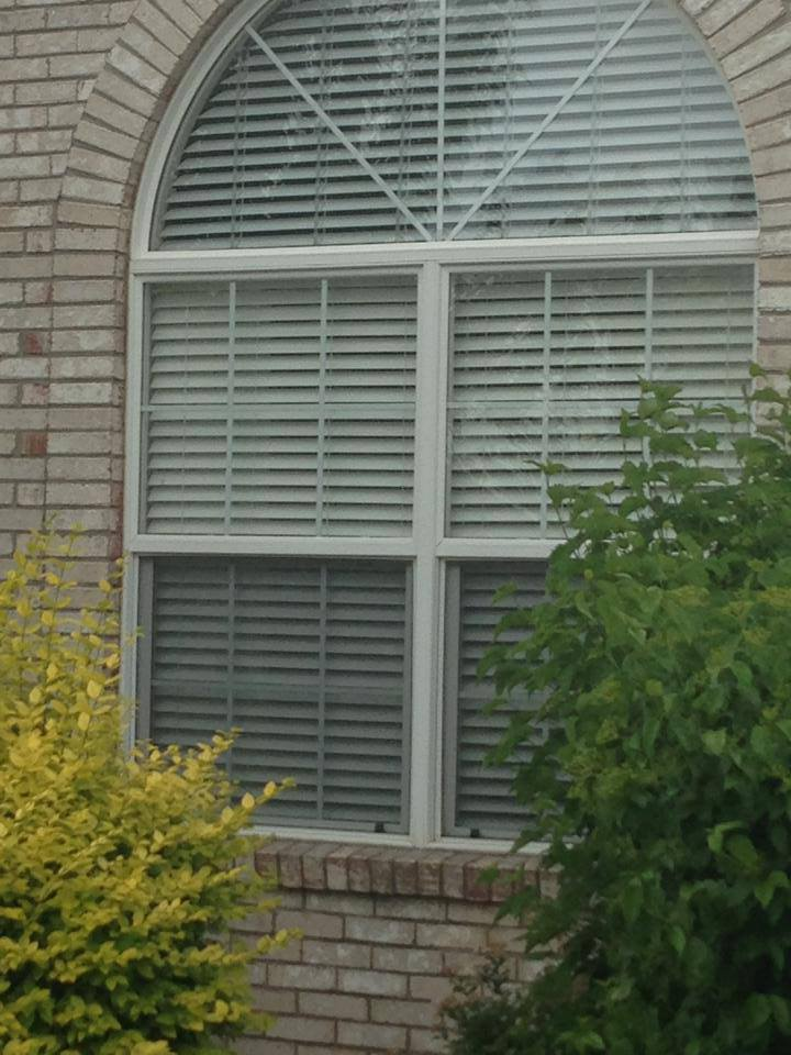 Arch or Palladium window covering