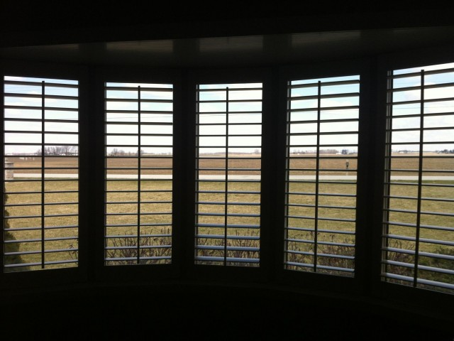 Look how wide open the view stays on this southern Indiana farm.